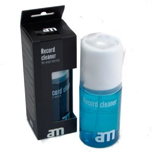 AM 200ml Vinyl LP Record Anti Static Cleaning Spray with Cleaning Cloth